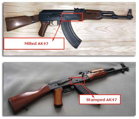 ¿Cómo sé si mi AK47/74 es milled o stamped?