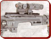 Kit transformación táctica de pistola Glock a rifle de asalto