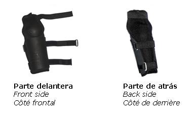 Protectores rígidos anti-trauma para antebrazos