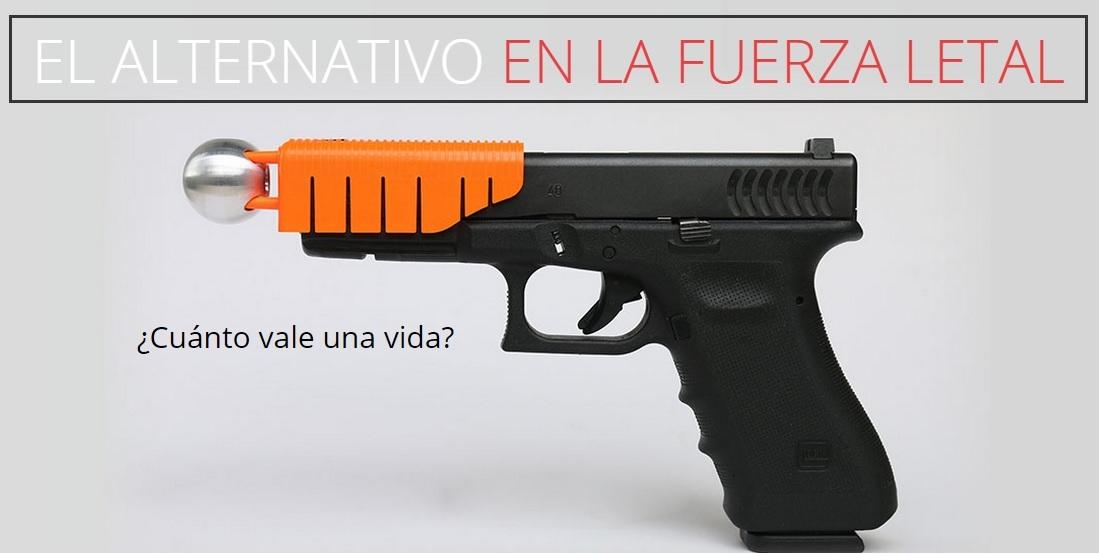 la alternativa montada en una glock