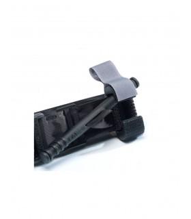 Porta guantes rotatorio de cuero