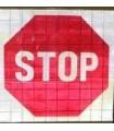 """Señal de tráfico enrollable, """"control policía"""""""
