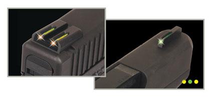 Miras tritio fibra óptica noche/día, TRUGLO Glock 17-19-26