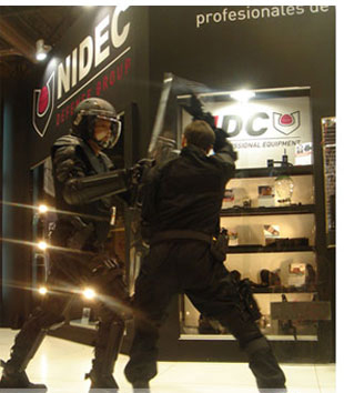 Paulson Tactical, gafas, viseras, escudos, uso policial